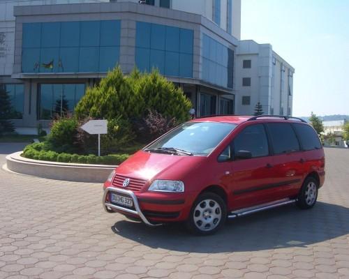 Пороги площадка для Volkswagen Sharan S2-02 d60мм x 1.6