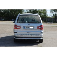 Защита заднего бампера для Volkswagen Sharan I (1999-2009) VWSH.99.B1-15 d60мм x 1.6