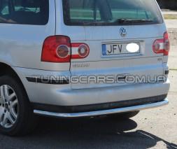 Задняя защита Volkswagen Sharan I (99-09) VWSH.99.B1-15