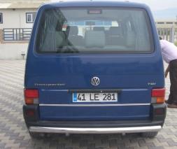 Защита заднего бампера Volkswagen Transporter [1990-2003] AK002
