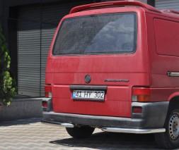 Задняя защита Volkswagen Transporter [1990-2003] AK003