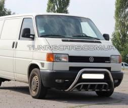 Защита переднего бампера для Volkswagen Transporter T4 (1990-2003)   WVT4.90.F1-02 d60мм x 1.6
