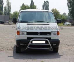 Передняя защита кенгурятник Volkswagen Transporter T4 (90-03) WVT4.90.F1-16