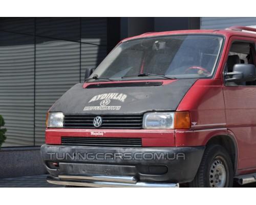 Защита переднего бампера для Volkswagen Transporter T4 (1990-2003) WVT4.90.F3-10 d60мм x 1.6
