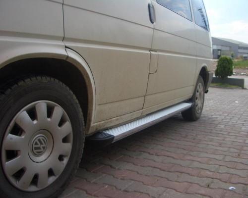 Пороги Volkswagen Transporter EB001 (Elegance Silver)