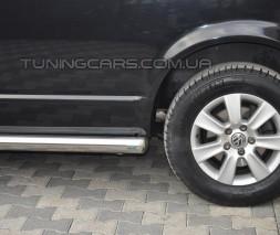 Пороги трубы Volkswagen Transporter T5 (09-16) VWT5.09.S1-01L