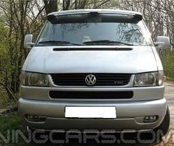 """Козырек лобового стекла """"Белый"""" (глянец) для Volkswagen T4, Фольксваген Т4"""