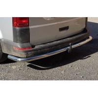 Защита заднего бампера для Volkswagen Transporter T6 (2016+) VWT6.16.B1-15 d60мм x 1.6