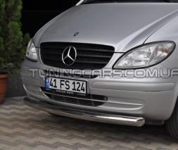 Защита переднего бампера для Volkswagen Touran I (2003-2005) VWTR.03.F3-05 d60мм x 1.6
