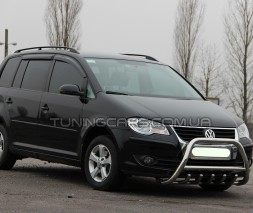 Передняя защита кенгурятник Volkswagen Touran I (03-05) VWTR.03.F1-03