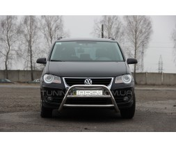 Передняя защита кенгурятник Volkswagen Touran I (03-05) VWTR.03.F1-16