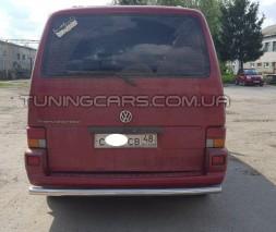 Защита заднего бампера для Volkswagen Transporter T4 (1990-2003) WVT4.90.B1-02 d60мм x 1.6