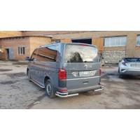 Защита заднего бампера Volkswagen Transporter VWT6.15.B1-52 d60мм x 1.6