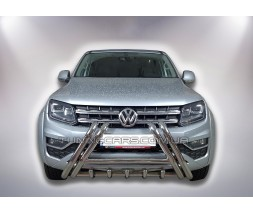 Защита переднего бампера для Volkswagen Amarok (2010+) VWAM.10.F1-01 d60мм x 1.6