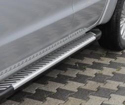 Пороги Volkswagen Amarok [2010+] AB007 (Artemis Fin)