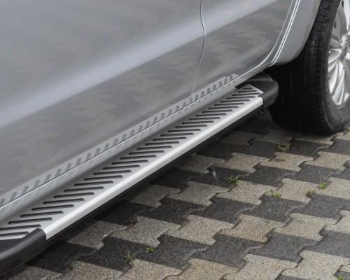 Пороги Volkswagen Amarok (2010+) AB007 (Artemis Fin)