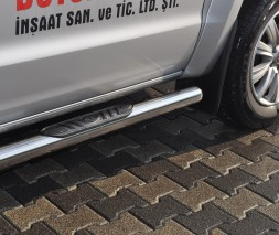 Пороги Volkswagen Amarok [2010+] BB003 (Asos)