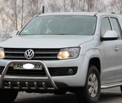 Пороги Volkswagen Amarok [2010+] KB001 (Hector)