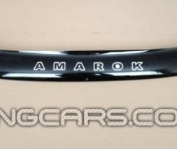Дефлектор капота (мухобойка) VW Amarok с 2010, (Фольксваген Амарок)