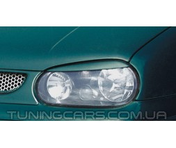 Накладки на фары (реснички) Volkswagen Golf 4, Гольф 4