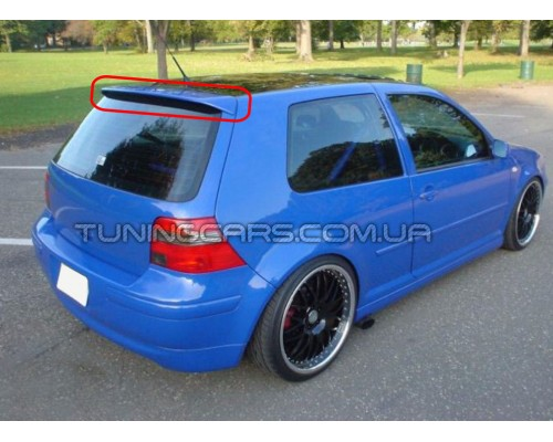 Спойлер Volkswagen Golf 4 R32