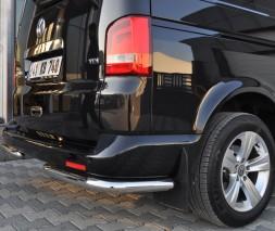 Защита заднего бампера Volkswagen Transporter AK003