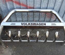 Передняя защита кенгурятник Volkswagen Transporter T5 (03-09) VWT5.03.F1-10