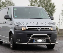 Передняя защита кенгурятник Volkswagen Transporter T5 (09-16) VWT5.09.F1-30