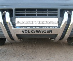 Передняя защита ус Volkswagen Transporter T5 (03-09) VWT5.03.F3-02