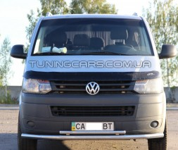 Передняя защита ус Volkswagen Transporter T5 (03-09) VWT5.03.F3-10