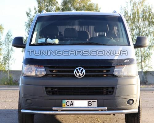 Защита переднего бампера для Volkswagen Transporter T5 (2003-2009) VWT5.03.F3-10 d60мм x 1.6