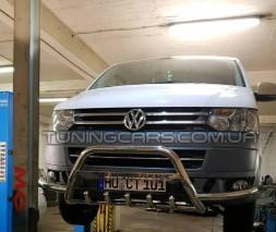 Защита переднего бампера для Volkswagen Transporter VWT6.15.F1-28 d60мм x 1.6