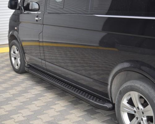 Пороги Volkswagen Transporter AB005 (Artemis Black)