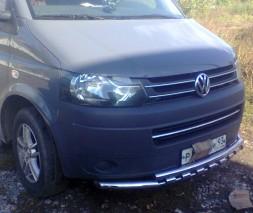 Защита переднего бампера для Volkswagen Transporter (T5) 2003+ Style 2