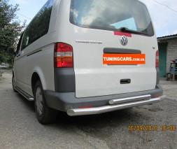 Защита заднего бампера для Volkswagen Transporter [2003+]