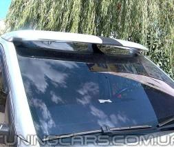 """Козырек лобового стекла """"Белый"""" (глянец) для Volkswagen T5, Фольксваген Т5"""