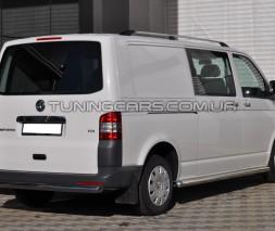 Защита заднего бампера для Volkswagen Transporter T5 (03-09VWT5.03.B1-02 d60мм x 1.6