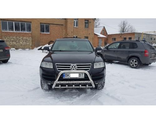 Модельный кенгурятник Volkswagen Touareg (02-10) VWTG.02.F1-03M