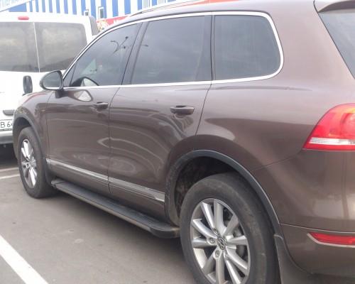 Пороги Volkswagen Touareg EB002 (Elegance Black)