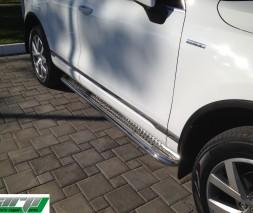 Пороги Volkswagen Touareg KB001 (Hector)