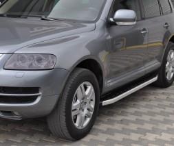 Пороги Volkswagen Touareg NS001 (Newstar Grey)