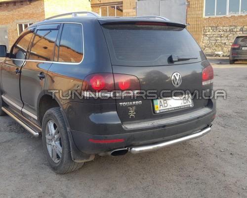 Задняя защита Volkswagen Touareg (2002-2012) VWTG.02.B1-02
