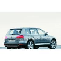 Защита заднего бампера для Volkswagen Touareg (2002-2007) VWTG.02.B1-55 d60мм x 1.6