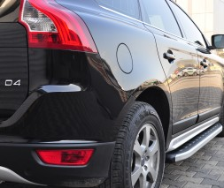 Пороги Volvo XC60 [2008+] NS001 (Newstar Grey)