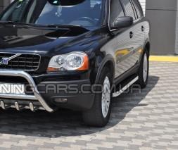 Защита переднего бампера для Volvo XC90 (2008-2013) VLX9.08.F1-03 d60мм x 1.6