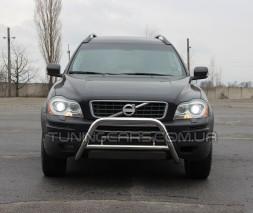 Защита переднего бампера для Volvo XC90 (2008-2013) VLX9.08.F1-11 d60мм x 1.6