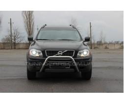 Защита переднего бампера для Volvo XC90 (2008-2013) VLX9.08.F1-23 d60мм x 1.6
