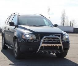 Защита переднего бампера для Volvo XC90 (2008-2013) VLX9.08.F2-10M d60мм x 1.6