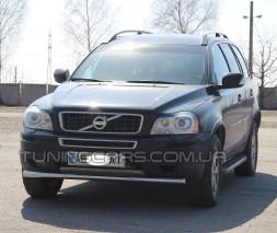 Защита переднего бампера для Volvo XC90 (2008-2013) VLX9.08.F3-05 d60мм x 1.6