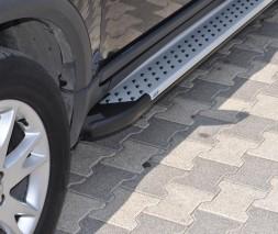Пороги Volvo XC90 AB004 (Artemis Silver)